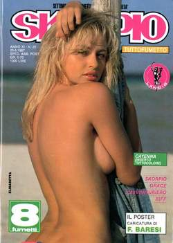 Copertina SKORPIO ANNO 11 n.25 - SKORPIO 1987            25, EDITORIALE AUREA