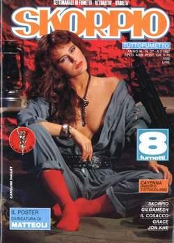 Copertina SKORPIO ANNO 11 n.27 - SKORPIO 1987            27, EDITORIALE AUREA