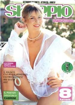 Copertina SKORPIO ANNO 11 n.28 - SKORPIO 1987            28, EDITORIALE AUREA