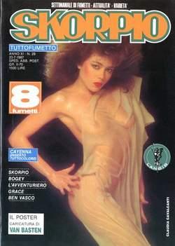 Copertina SKORPIO ANNO 11 n.29 - SKORPIO 1987            29, EDITORIALE AUREA