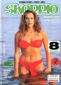Copertina SKORPIO ANNO 11 n.31 - SKORPIO 1987            31, EDITORIALE AUREA