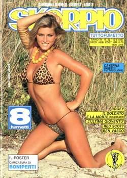 Copertina SKORPIO ANNO 11 n.32 - SKORPIO 1987            32, EDITORIALE AUREA