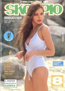 Copertina SKORPIO ANNO 11 n.35 - SKORPIO 1987            35, EDITORIALE AUREA