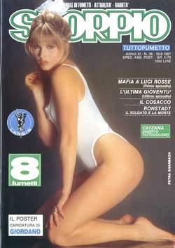 Copertina SKORPIO ANNO 11 n.36 - SKORPIO 1987            36, EDITORIALE AUREA