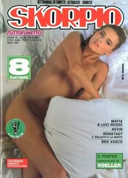 Copertina SKORPIO ANNO 11 n.38 - SKORPIO 1987            38, EDITORIALE AUREA