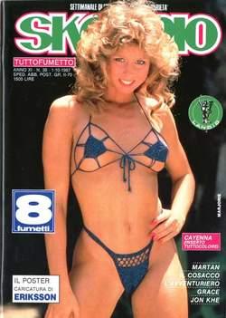 Copertina SKORPIO ANNO 11 n.39 - SKORPIO 1987            39, EDITORIALE AUREA