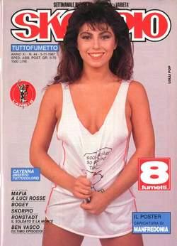 Copertina SKORPIO ANNO 11 n.44 - SKORPIO 1987            44, EDITORIALE AUREA
