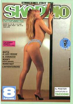 Copertina SKORPIO ANNO 11 n.48 - SKORPIO 1987            48, EDITORIALE AUREA