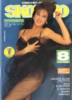 Copertina SKORPIO ANNO 11 n.50 - SKORPIO 1987            50, EDITORIALE AUREA