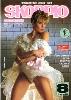 Copertina SKORPIO ANNO 11 n.51 - SKORPIO 1987            51, EDITORIALE AUREA