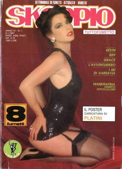 Copertina SKORPIO ANNO 11 n.1 - SKORPIO 1987             1, EDITORIALE AUREA