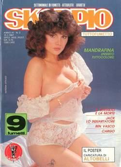 Copertina SKORPIO ANNO 11 n.2 - SKORPIO 1987             2, EDITORIALE AUREA