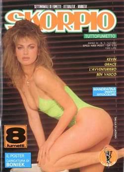 Copertina SKORPIO ANNO 11 n.5 - SKORPIO 1987             5, EDITORIALE AUREA