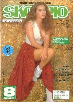 Copertina SKORPIO ANNO 11 n.3 - SKORPIO 1987             3, EDITORIALE AUREA