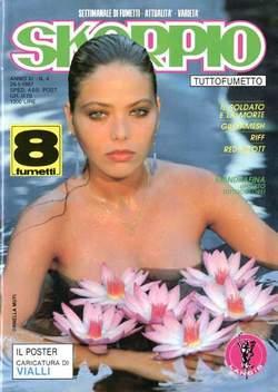 Copertina SKORPIO ANNO 11 n.4 - SKORPIO 1987             4, EDITORIALE AUREA