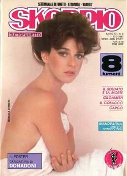 Copertina SKORPIO ANNO 11 n.6 - SKORPIO 1987             6, EDITORIALE AUREA