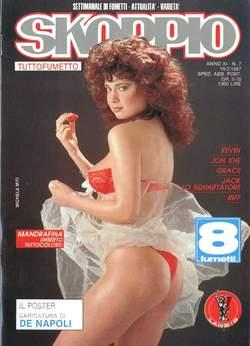 Copertina SKORPIO ANNO 11 n.7 - SKORPIO 1987             7, EDITORIALE AUREA