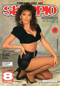 Copertina SKORPIO ANNO 12 n.10 - SKORPIO 1988            10, EDITORIALE AUREA