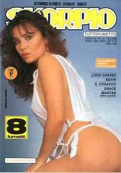 Copertina SKORPIO ANNO 12 n.14 - SKORPIO 1988            14, EDITORIALE AUREA