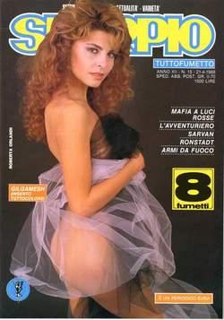 Copertina SKORPIO ANNO 12 n.15 - SKORPIO 1988            15, EDITORIALE AUREA