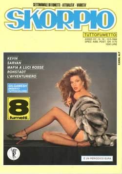 Copertina SKORPIO ANNO 12 n.18 - SKORPIO 1988            18, EDITORIALE AUREA