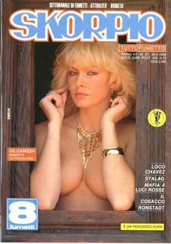 Copertina SKORPIO ANNO 12 n.20 - SKORPIO 1988            20, EDITORIALE AUREA