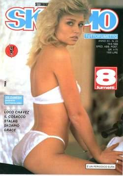 Copertina SKORPIO ANNO 12 n.23 - SKORPIO 1988            23, EDITORIALE AUREA