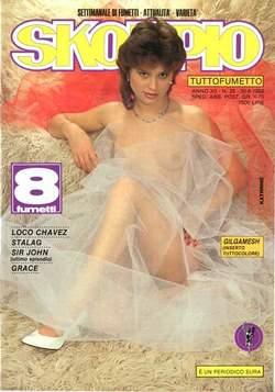 Copertina SKORPIO ANNO 12 n.25 - SKORPIO 1988            25, EDITORIALE AUREA