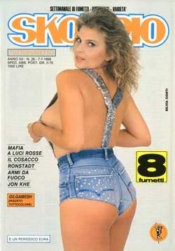 Copertina SKORPIO ANNO 12 n.26 - SKORPIO 1988            26, EDITORIALE AUREA