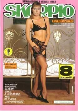 Copertina SKORPIO ANNO 12 n.30 - SKORPIO 1988            30, EDITORIALE AUREA
