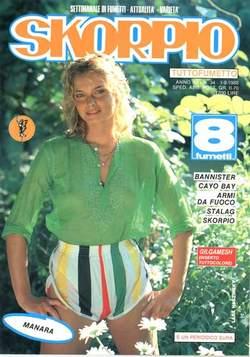 Copertina SKORPIO ANNO 12 n.34 - SKORPIO 1988            34, EDITORIALE AUREA