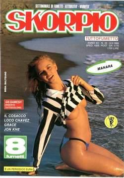 Copertina SKORPIO ANNO 12 n.35 - SKORPIO 1988            35, EDITORIALE AUREA
