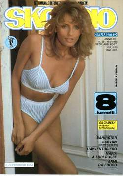 Copertina SKORPIO ANNO 12 n.36 - SKORPIO 1988            36, EDITORIALE AUREA