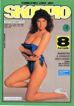 Copertina SKORPIO ANNO 12 n.38 - SKORPIO 1988            38, EDITORIALE AUREA