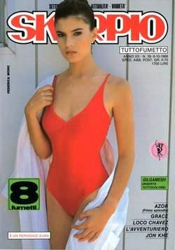Copertina SKORPIO ANNO 12 n.39 - SKORPIO 1988            39, EDITORIALE AUREA