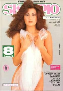 Copertina SKORPIO ANNO 12 n.43 - SKORPIO 1988            43, EDITORIALE AUREA