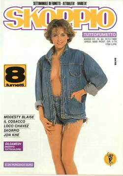 Copertina SKORPIO ANNO 12 n.44 - SKORPIO 1988            44, EDITORIALE AUREA