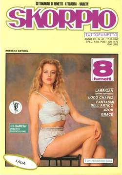 Copertina SKORPIO ANNO 12 n.45 - SKORPIO 1988            45, EDITORIALE AUREA