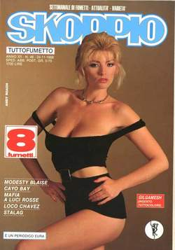 Copertina SKORPIO ANNO 12 n.46 - SKORPIO 1988            46, EDITORIALE AUREA