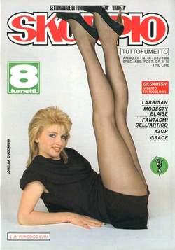 Copertina SKORPIO ANNO 12 n.48 - SKORPIO 1988            48, EDITORIALE AUREA