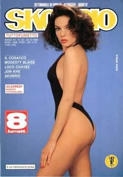 Copertina SKORPIO ANNO 12 n.50 - SKORPIO 1988            50, EDITORIALE AUREA