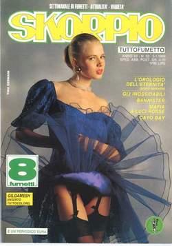 Copertina SKORPIO ANNO 12 n.52 - SKORPIO 1988            52, EDITORIALE AUREA