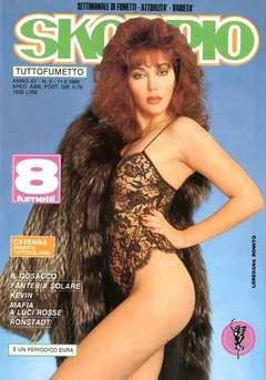 Copertina SKORPIO ANNO 12 n.5 - SKORPIO 1988             5, EDITORIALE AUREA