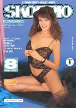 Copertina SKORPIO ANNO 12 n.9 - SKORPIO 1988             9, EDITORIALE AUREA