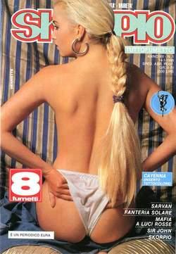 Copertina SKORPIO ANNO 12 n.1 - SKORPIO 1988             1, EDITORIALE AUREA