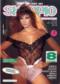 Copertina SKORPIO ANNO 13 n.12 - SKORPIO 1989            12, EDITORIALE AUREA