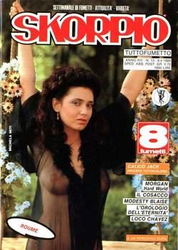Copertina SKORPIO ANNO 13 n.13 - SKORPIO 1989            13, EDITORIALE AUREA