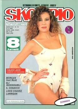 Copertina SKORPIO ANNO 13 n.16 - SKORPIO 1989            16, EDITORIALE AUREA