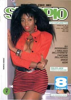 Copertina SKORPIO ANNO 13 n.17 - SKORPIO 1989            17, EDITORIALE AUREA