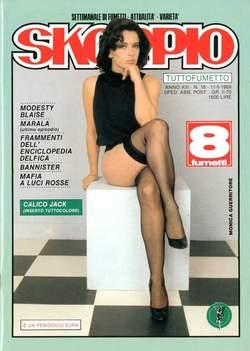 Copertina SKORPIO ANNO 13 n.18 - SKORPIO 1989            18, EDITORIALE AUREA